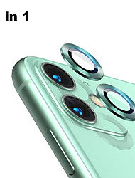 cheap -Back Aluminum Alloy Tempered Glass Lens Protector for iPhone 11