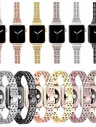 Недорогие -ремешок для часов для Apple Watch серии 5/4/3/2/1 дизайн ювелирных изделий Apple из нержавеющей стали ремешок на запястье