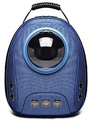 cheap -Dog Cat Pets Carrier Bag & Travel Backpack Portable Breathable Travel Pet Oxford Cloth Cartoon Fashion Light Green Dark Blue Gray