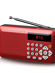 cheap -Mini Portable Radio Handheld Digital FM USB MP3 Player Speaker Rechargeable Radio