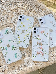 cheap -Case For Apple iPhone 11 / iPhone 11 Pro / iPhone 11 Pro Max Shockproof Back Cover Transparent / Flower TPU