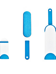 cheap -Dog Cat Pets Brushes Cleaning Brush Set Hair Removal Product ABS+PC Brush Portable Soft Durable Pet Grooming Supplies Blue One-piece Suit