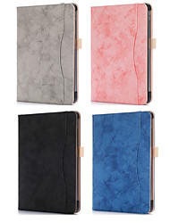 cheap -Case For Apple iPad Pro 11'' Card Holder / Origami Full Body Cases Solid Colored PU Leather