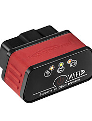 Недорогие -Konnwei KW903 Wi-Fi для Android и IOS системы для iphone obd2 диагностический инструмент elm327 icar2 obdii код сканер автомобильный сканер