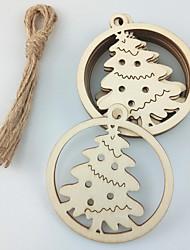 cheap -Ornaments Wood 10pcs Christmas