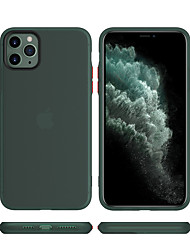 cheap -Case For Apple iPhone 11 / iPhone 11 Pro / iPhone 11 Pro Max Frosted Back Cover Solid Colored Rubber