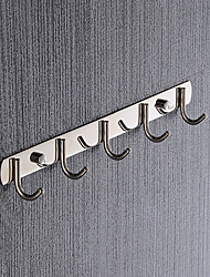 cheap -Robe Hook Creative Contemporary Stainless Steel / Iron 1pc Wall Mounted