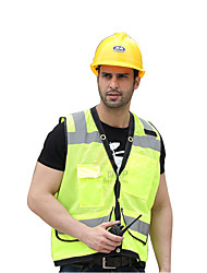 cheap -Reflective Vest 1 Piece Safety / Adjustable / Quick Dry Textile for Police / Military / Cycling / Bike / Running