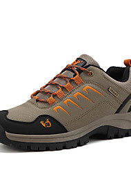 cheap -Women's Athletic Shoes Flat Heel Round Toe PU Sporty / Casual Hiking Shoes / Walking Shoes Spring & Summer / Fall & Winter Brown / Dark Green / Gray