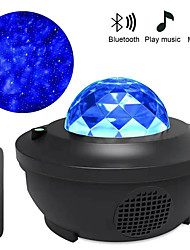 cheap -Star Projector Lights Bluetooth Voice Control Whirlwind Laser Projector Stage Lamps Disco Club Bar KTV Family Party Light Show