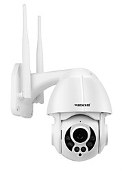 cheap -Wanscam K38D 1080P WiFi IP Camera  Face Detect Auto Tracking 4X Zoom Two-way Audio P2P CCTV Security Surveillance Outdoor Cam SD Card Slot