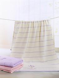 cheap -Superior Quality Bath Towel, Floral / Fashion Pure Cotton / Cotton Jacquard Bathroom 1 pcs