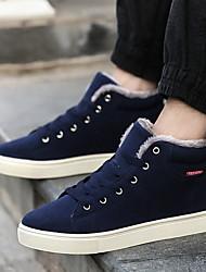 baratos -Homens Sapatos Confortáveis Com Transparência Outono & inverno Tênis Preto / Verde / Azul
