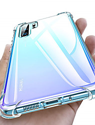 cheap -Suitable for Huawei P30 P30Pro mate30por transparent TPU cover air cushion back cover for Huawei P20 P20Pro mate20por air cushion cover soft crystal silicon TPU shockproof full protection mobile phone
