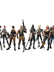 cheap -FORTNITE GAME Decorative Wall Stickers - Plane Wall Stickers Bedroom / Study Room / Office