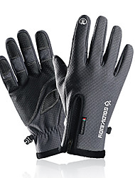 cheap -Winter Gloves Running Gloves Full Finger Gloves Anti-Slip Touch Screen Thermal Warm Cold Weather Men's Women's Hiking Running Driving Cycling Texting Winter / Lightweight