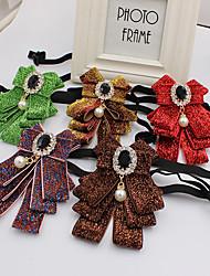 cheap -Women's / Boys' Work / Cute Bow Tie - Print