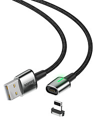 Недорогие -Базовый цинковый магнитный кабель USB для IP 1.5a 2 м