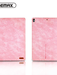 cheap -Case For Apple iPad Pro 10.5 Origami / Magnetic / Auto Sleep / Wake Up Full Body Cases Solid Colored PU Leather / TPU