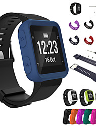 cheap -1pcs Watch Band  With 1pcs Watch Case for Forerunner 35 Garmin Classic Buckle Silicone Wrist Strap