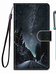 cheap -Case For Apple iPhone 11 / iPhone 11 Pro / iPhone 11 Pro Max Wallet / Card Holder / with Stand Full Body Cases Scenery PU Leather / TPU