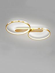cheap -57 cm CONTRACTED LED® 2-Light Novelty Flush Mount Lights Ambient Light Painted Finishes Metal LED, New Design 110-120V / 220-240V Warm White / Cold White