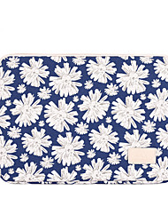 cheap -13.3 Inch Laptop / 14 Inch Laptop / 15.6 Inch Laptop Sleeve Polyester Floral Print for Men for Women for Business Office Water Proof Shock Proof