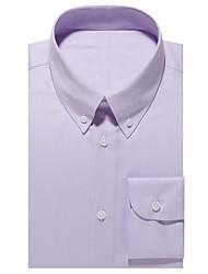 Недорогие -рубашка хлопка лаванды