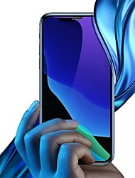 cheap -Baseus full-screen curved anti-blue light tempered glass screen protector (cellular dust prevention)For iPX/XS 5.8inch Black