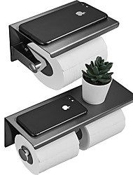 cheap -Bathroom Accessory Set / Toilet Paper Holder / 3 Colors Bathroom Shelf Multilayer / New Design / Multifunction Contemporary / Antique Stainless Steel 2pc - Bathroom Wall Mounted