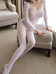 cheap -Women's Thin Pantyhose / Socks 10D Black White Beige One-Size