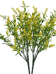 cheap -Artificial Flowers 1 Branch Classic Simple Style Pastoral Style Lavender Tabletop Flower 35*13*6cm