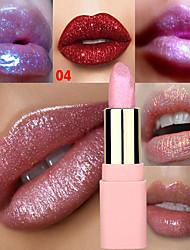 Недорогие -марка lulaa 8 цвет перламутровой помады блестящий золотой розовый увлажняющий блеск для губ стойкий макияж губ