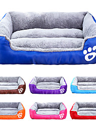 cheap -Cat Dog Mattress Pad Bed Bed Blankets Solid Colored Waterproof Cute Fabric Cotton for Large Medium Small Dogs and Cats