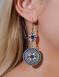 cheap -Women's Drop Earrings Hoop Earrings Earrings Monogram Flower Earrings Jewelry Silver For Gift Daily Street Club Festival