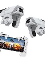 abordables -Téléphone intelligent déclencheur de jeu mobile pour pubg jeu mobile bouton de tir objectif clé l1r1 tireur contrôleur manette de jeu pour iphone xiaomi