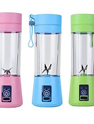cheap -Usb Rechargeable Blender Mixer 6 Blades Juicer Bottle Cup Juice Citrus Lemon Vegetables Fruit Smoothie Squeezers Reamers