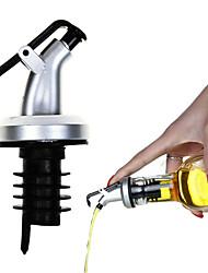 cheap -3pcs Oil Spout Oil Bottle Plug Pour Mouth Wine Stopper Soy Sauce Vinegar Bottle Plug Oiler Kitchen Supplies