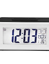 cheap -LCD Digital Wall Clock,Atomic Clock with Fold Out Stand,Battery Operated,Radio Controlled, Easy to Read Time,Date,Day of The Week and Temperature.