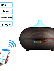 cheap -400ml WIFI Aroma Air Humidifier Essential Oil Diffuser Aromatherapy Electric Ultrasonic cool Mist Maker for Home Remote Control-XD802W