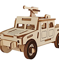 cheap -3D Puzzle Wooden Puzzle Car Simulation Hand-made Wooden 44/43/52/40 pcs Race Car Kid's Adults' All Toy Gift