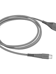 cheap -Type-C Cable 1.2m(4Ft) Braided / Quick Charge Aluminum / Nylon USB Cable Adapter For Huawei / Nokia / Lenovo