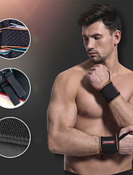 cheap -AOLIKES Wrist Brace 2 pcs Sports Nylon Exercise & Fitness Gym Workout Weightlifting Durable Support For Men Women