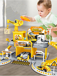 cheap -Toy Car Building Blocks Marble Run Race Construction Marble Run Creative Ball compatible ABS+PC Legoing City View Lovely Parent-Child Interaction All Boys' Girls' Toy Gift / Kids / Kid's