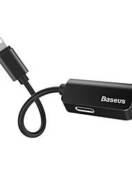 cheap -Baseus iP Male to iPiP Female Adapter L37 Black