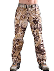 cheap -Men's Hunting Pants Outdoor Waterproof Breathable Wear Resistance Spring Fall Winter Pants / Trousers Hunting Leisure Sports Black Jungle camouflage Digital Desert