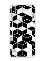 cheap -Case For Xiaomi Redmi Note 5 Pro/Redmi Note 4X/Note 7 Ultra-thin / Pattern Back Cover Geometric Pattern / Marble TPU For Xiaomi Redmi S2/Note 6 Pro/7A/A2 Lite/6 Pro