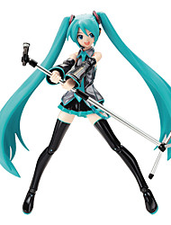 cheap -Anime Action Figures Inspired by Vocaloid Hatsune Miku PVC(PolyVinyl Chloride) 19 cm CM Model Toys Doll Toy