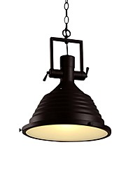cheap -1-Light 36 cm Creative Pendant Light Metal Industrial Electroplated Artistic Nordic Style 110-120V 220-240V