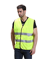 cheap -Reflective Vest 1 Piece Safety / Adjustable / Quick Dry Textile for Running / Police / Military / Cycling / Bike